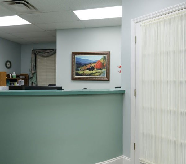 Picture of the front desk at Dental Arts of Tellico Village