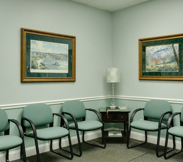 picture of the waiting room
